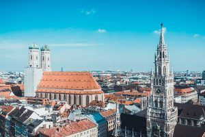Munich Skyline MUPET