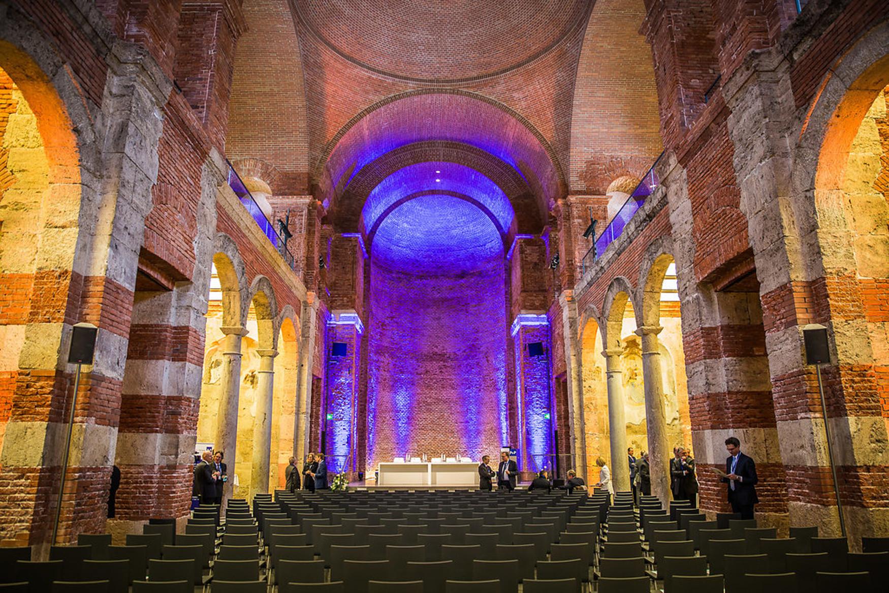 Die Allerheiligen-Hofkirche in München war am 23. Februar 2018 Schauplatz eines Festakts anlässlich des 20-jährigen Kanzleijubiläums von P+P Pöllath + Partners.